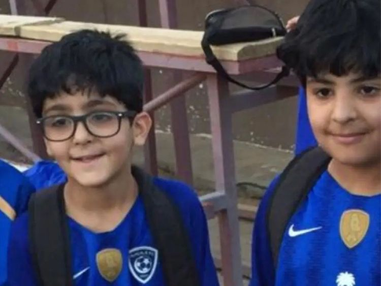 Two of the boys who died in the car accident along with their parents